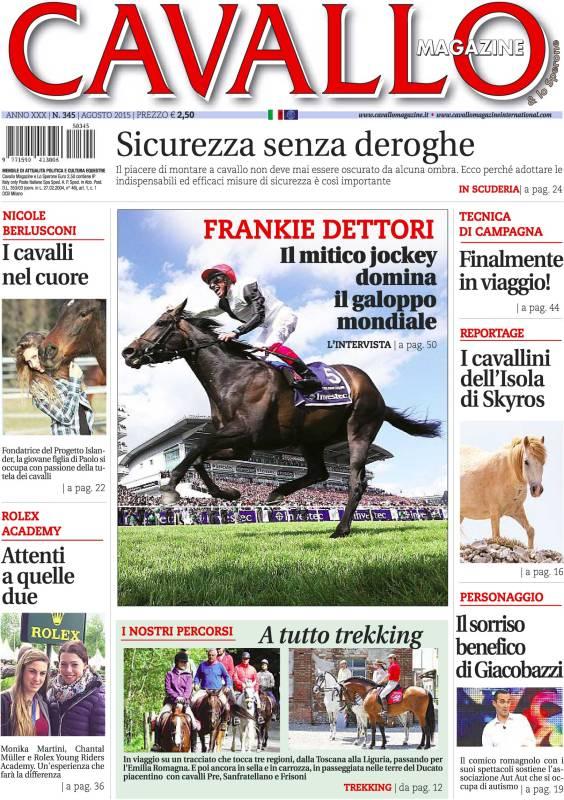 Cavallo Magazine di agosto è in edicola!