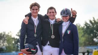 Pietro Majolino vince il titolo italiano junior di completo 2015
