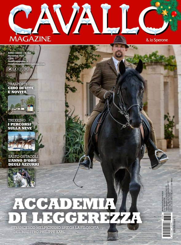 Cavallo Magazine December 2018 is out!